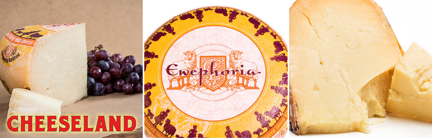 Ewephoria® Matured Sheepmilk Cheese